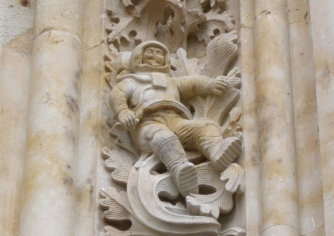Astronauta catedral de salamanca